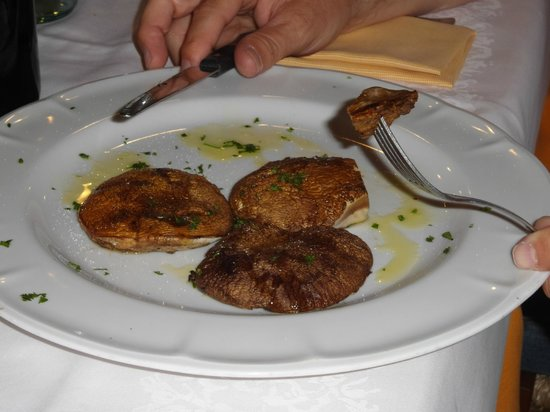 ポルチーニのステーキ
